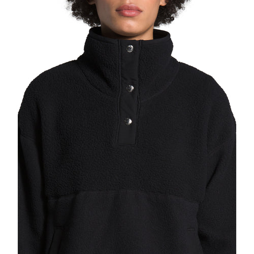Women's Cragmont Fleece 1/4 Snap Top - TNF Black