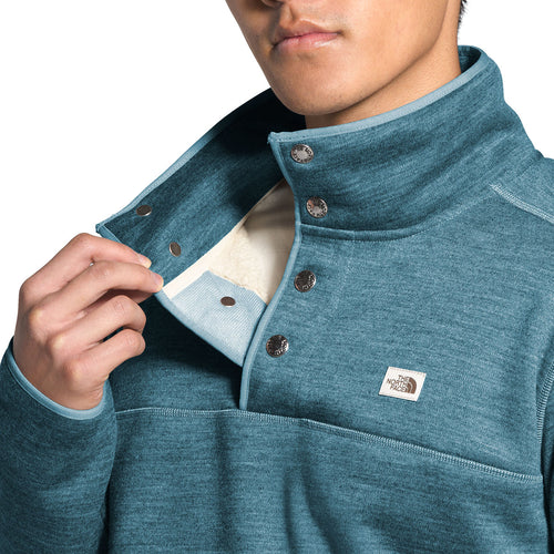 Men's Sherpa Patrol Snap Pullover Top - Mallard Blue