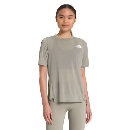 Women's Up With The Sun Short Sleeve Shirt - Mineral Grey