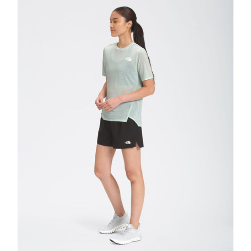 Women's Up With The Sun Short Sleeve Shirt - Misty Jade