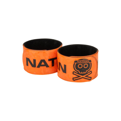 Reflex Reflective Snap Bands (2 pack) - Road Killer/Hi-Viz Orange