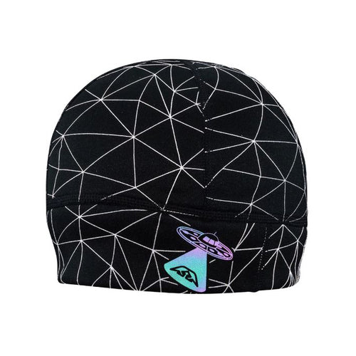 HyperNight Reflective Beanie - Galaxy Black