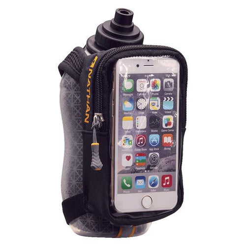 SpeedView Plus Insulated 18 oz Flask with Phone Case - Black