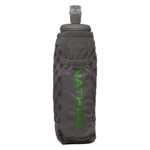 ExoShot 2.0 14oz Handheld Bottle - Castlerock/Classic Green