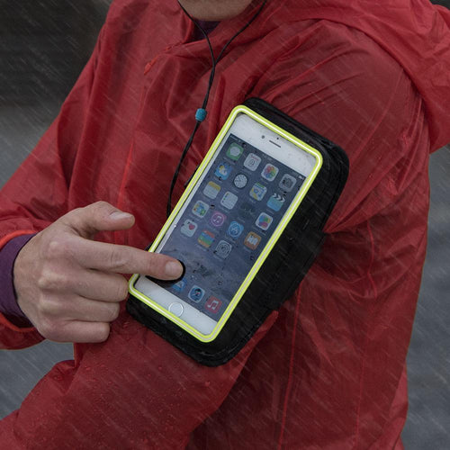 SonicStorm Smartphone Carrier - Black/Safety Yellow