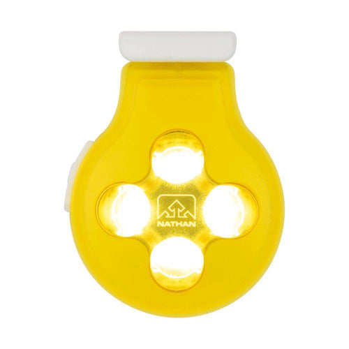 HyberBrite Orb LED Clip-On Light - Vibrant Yellow/White