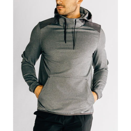 Men's Nylon Tactel Hoodie -Asphalt Heather
