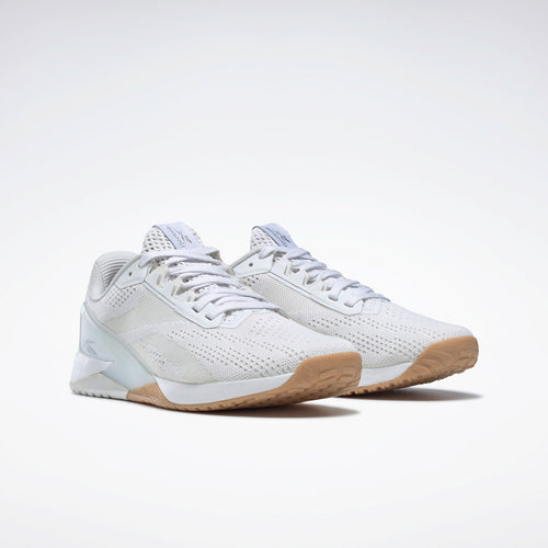 Women's Nano X1 Cross Training Shoe - White/Tan Gum