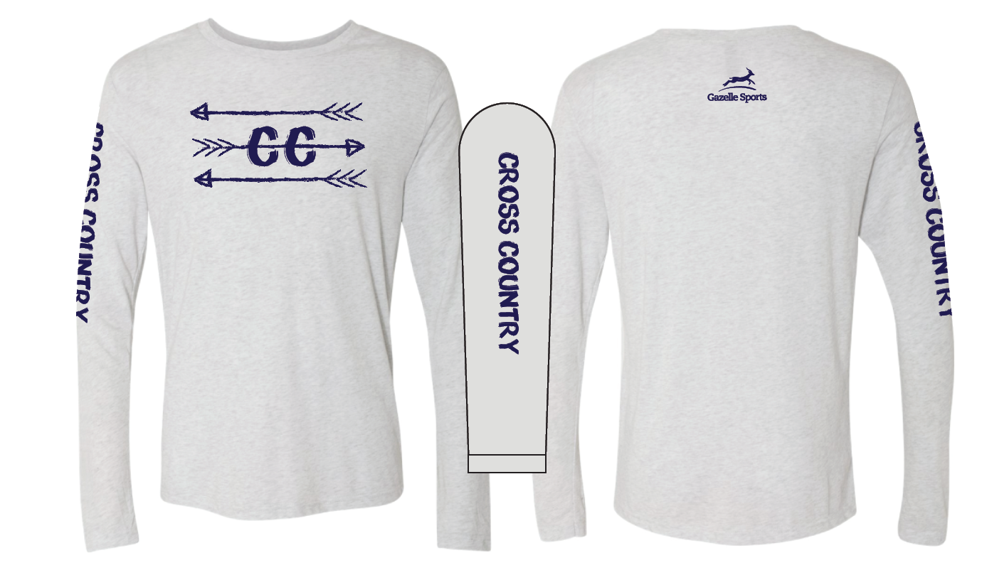 991ec3171 Cross Country Arrows Long Sleeve Crew – Gazelle Sports