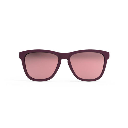 Hungover in the Oasis Sunglasses - Plum/Rose