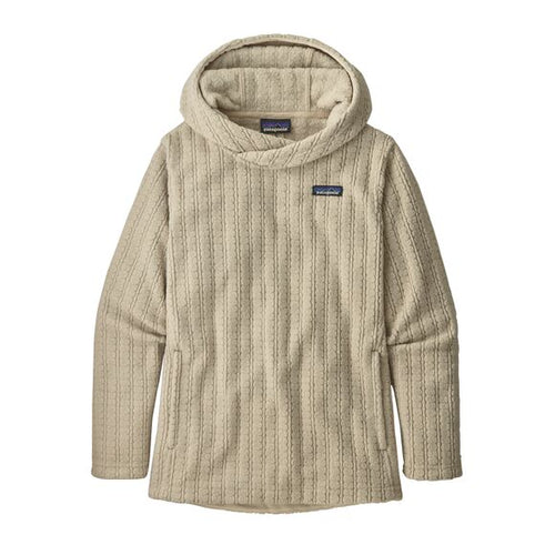 Women's Cable Capra Hoody - Natural