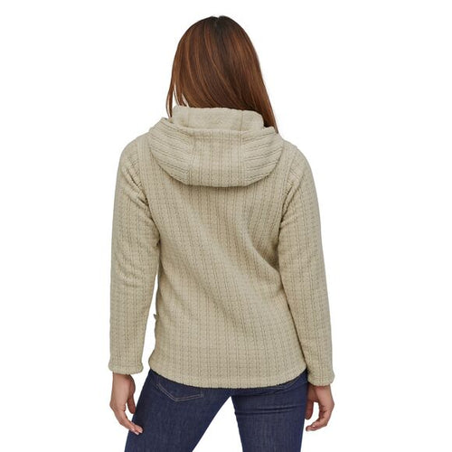 Women's Cable Capra Hoody - Topsoil Brown
