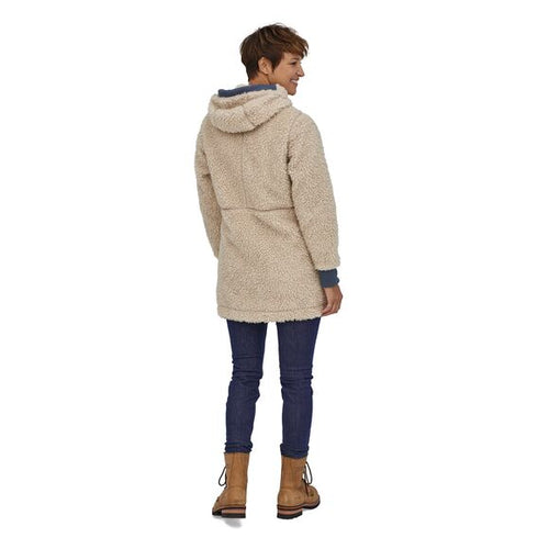 Women's Dusty Mesa Parka - Natural w/Smolder Blue
