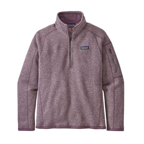 Women's Better Sweater 1/4 Zip - Hazy Purple