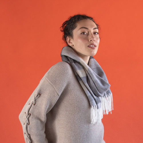 Women's Satori Scarf - Grey