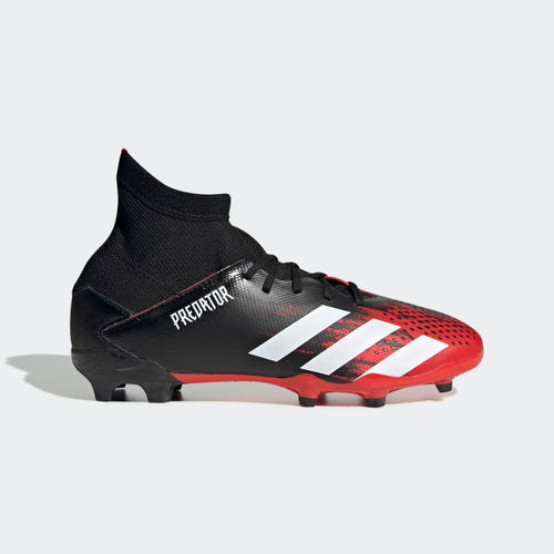 Junior Predator 20.3 Firm Ground Cleat - Core Black / Cloud White / Core Black
