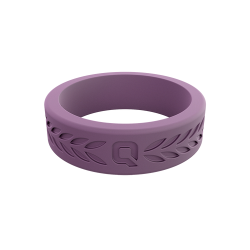 Women's Laurel Q2X™ Silicone Ring - Lilac