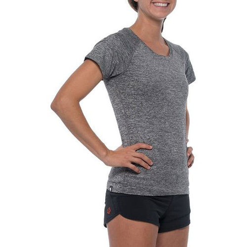 Women's EZ Short Sleeve Tee - Charcoal