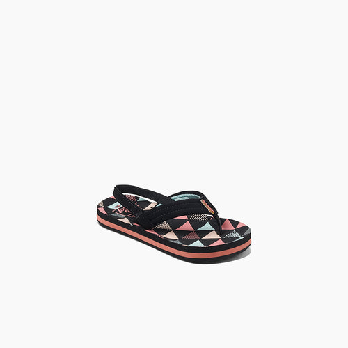 Girls' Little Ahi Sandals - Surf Flag