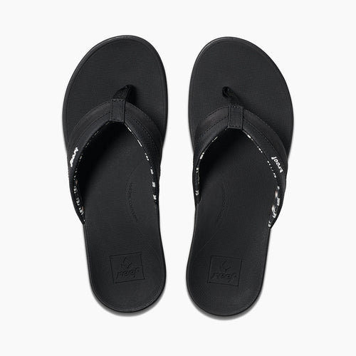 Women's Ortho-Bounce Coast Sandals - Black