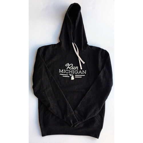 Run Mich Pullover Hoodie - Carbon