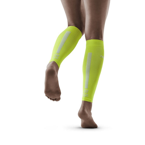 Women's Compression Calf Sleeves 3.0 - Lime/Light Grey