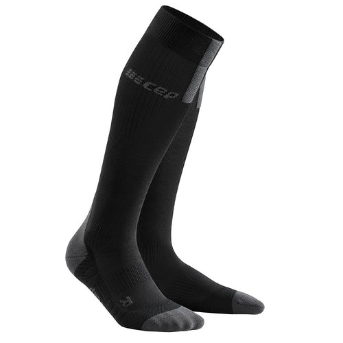 Women's Run Socks 3.0 - Black/Dark Grey