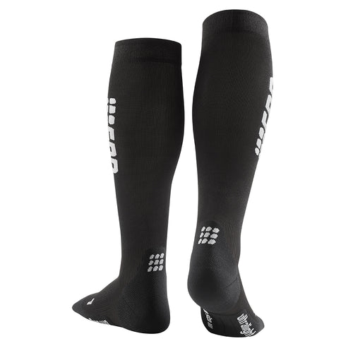 Men's Run Ultralight Socks - Black/Dark Grey