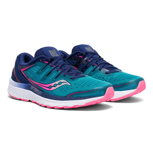Women's Guide ISO 2 Running Shoe - Teal/Pink
