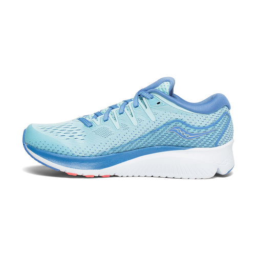 Women's Ride ISO 2 (D - Wide) Running Shoe - Blue/Coral