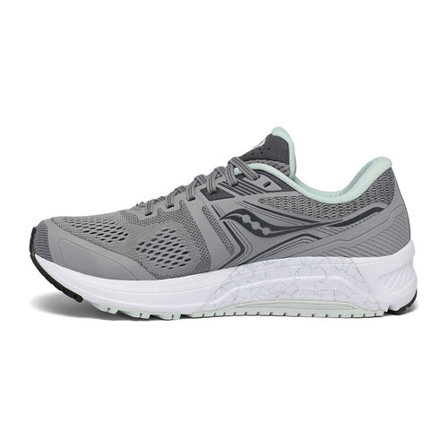 Women's Omni 19 (D - Wide) Running Shoe - Alloy/Sky