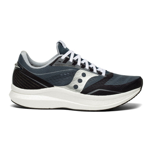 Women's Endorphin SPEED Icon (B - Regular) Running Shoe - Navy/Silver