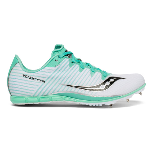 Women's Vendetta 2 Track Spike - White/Teal