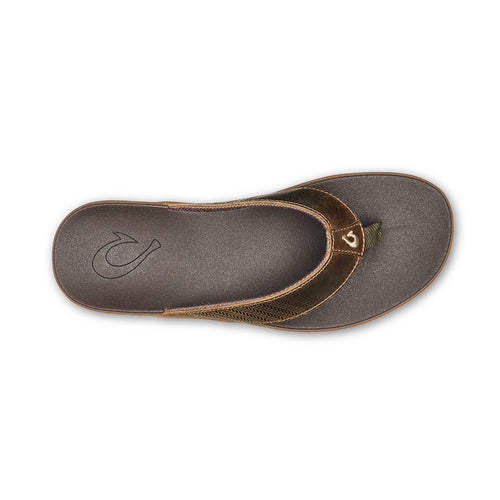 Men's Alania Sandal - Mustang/Dark Wood
