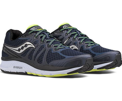Men's Echelon 6 (Wide-2E) Running Shoe - Navy/Citron