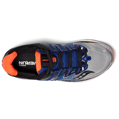 Men's Triumph ISO 4 Running Shoe - Silver/Blue/ViziRed