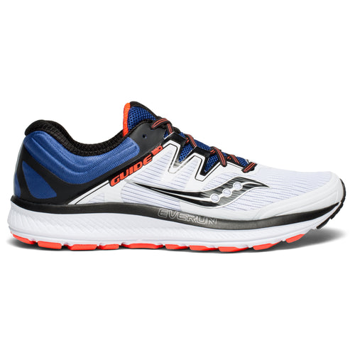 Men's Guide ISO Running Shoe - White/Blue/ViziRed