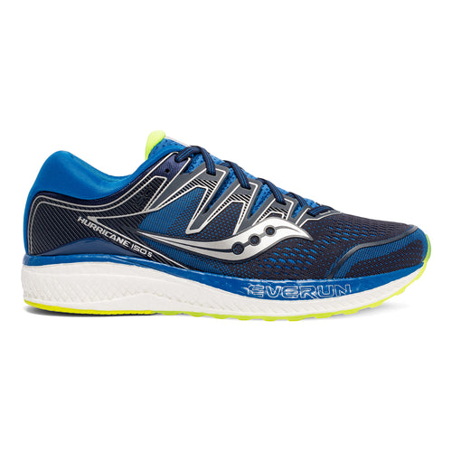 Men's Hurricane ISO 5 Running Shoe - Navy/Citron