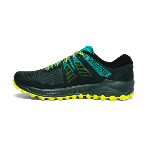 Men's Peregrine ISO Trail Running Shoe - Green/Teal