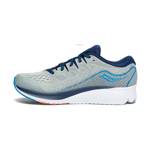 Men's Ride ISO 2 (2E - Wide) Running Shoe - Blue/Grey
