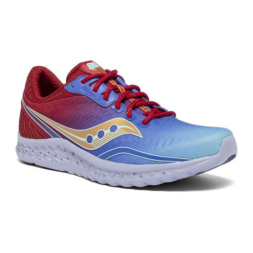 Unisex Max Kinvara 11 Running Shoe - Red/Teal
