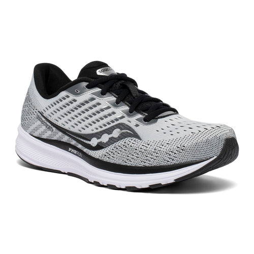 Men's Ride 13 Running Shoe - Alloy/Black