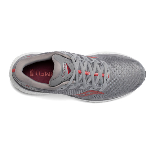 Men's Triumph 18 Running Shoe - Alloy/Red