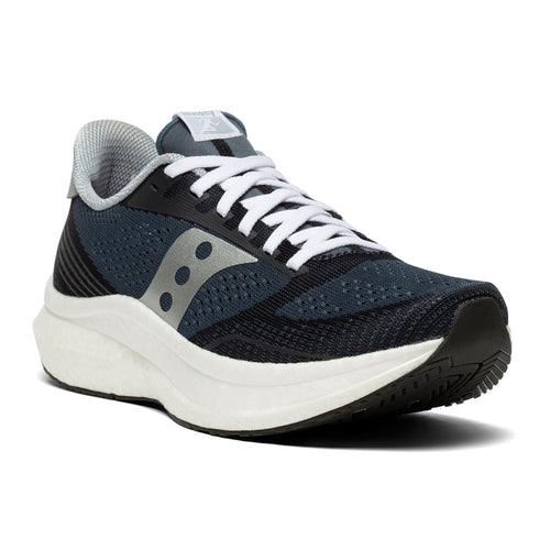 Men's Endorphin PRO Icon (D - Regular) Running Shoe - Navy/Silver