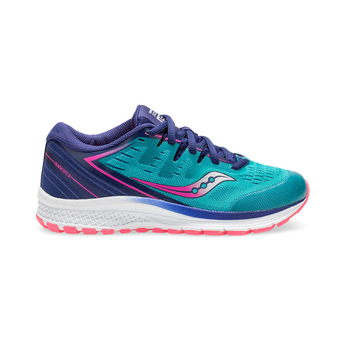 Youth Guide ISO 2 Running Shoe - Teal/Pink
