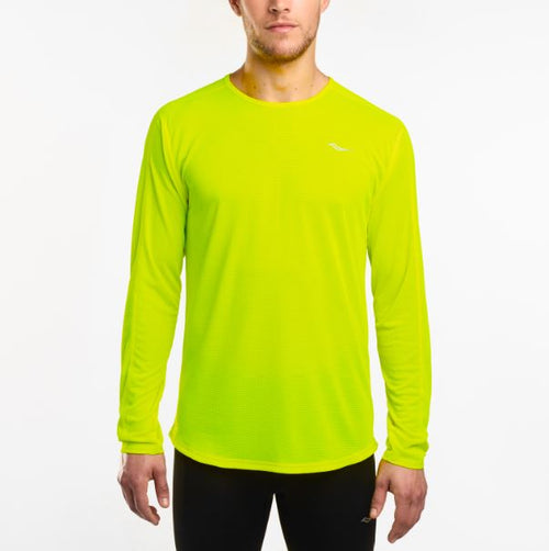 Men's Hydralite Long Sleeve- Yellow