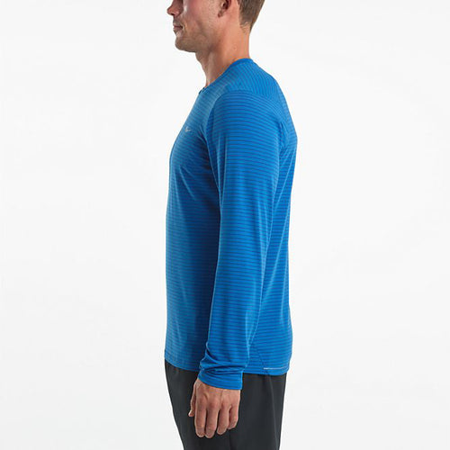 Men's Freedom Long Sleeve Top - Directoire Blue/Limoges