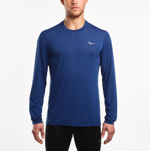 Men's Freedom Long Sleeve- Dark Blue