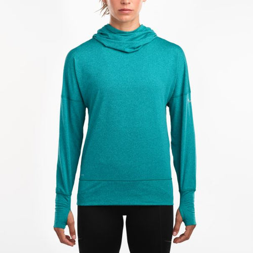 Women's Run Strong Hoodie 2.0- Green