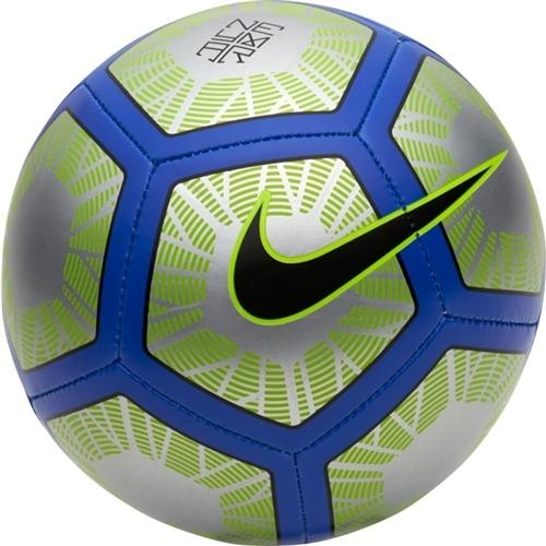Neymar Skills Ball - Chrome/Volt/Racer Blue/Black